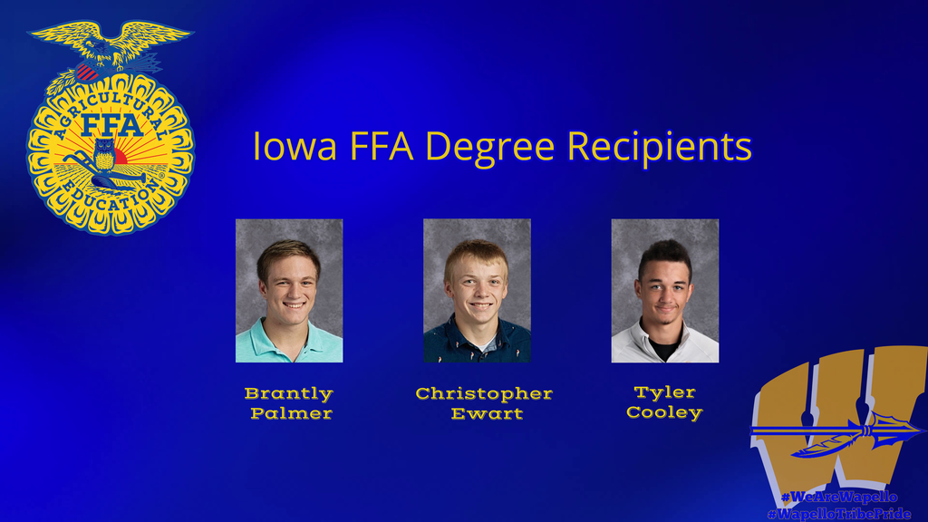 Iowa FFA Degree 2020