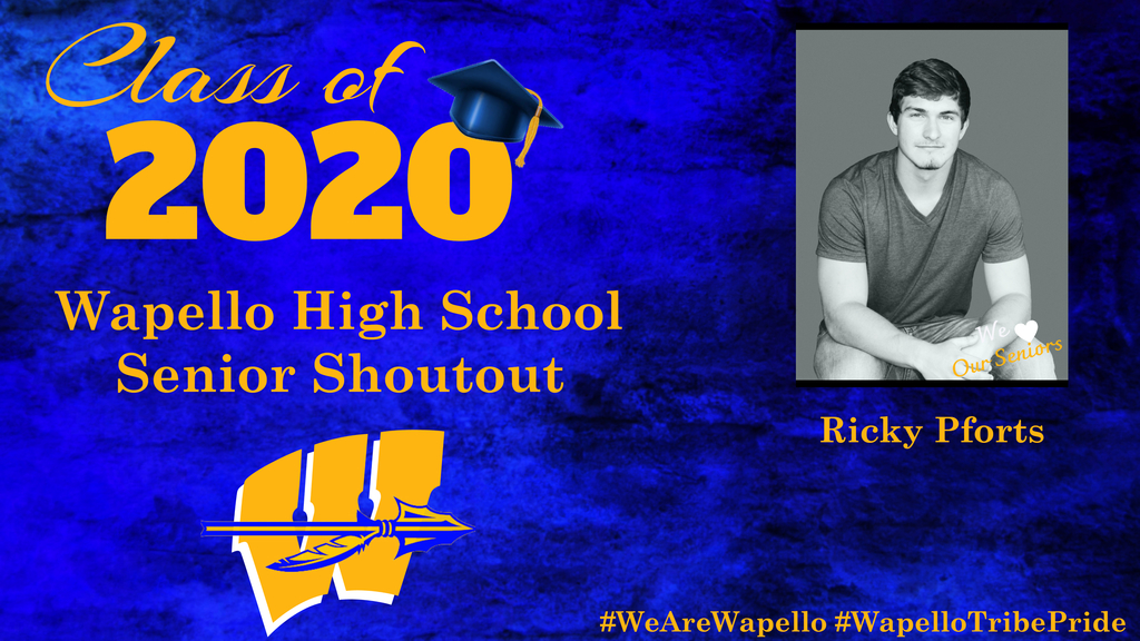 Senior Shoutout - Ricky Pforts
