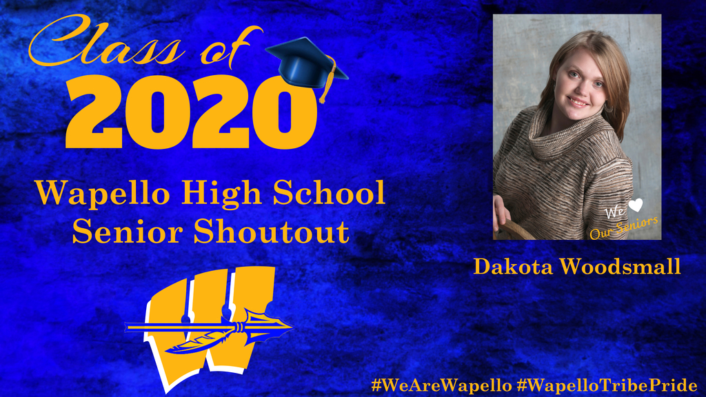 Senior Shoutout - Dakota Woodsmall