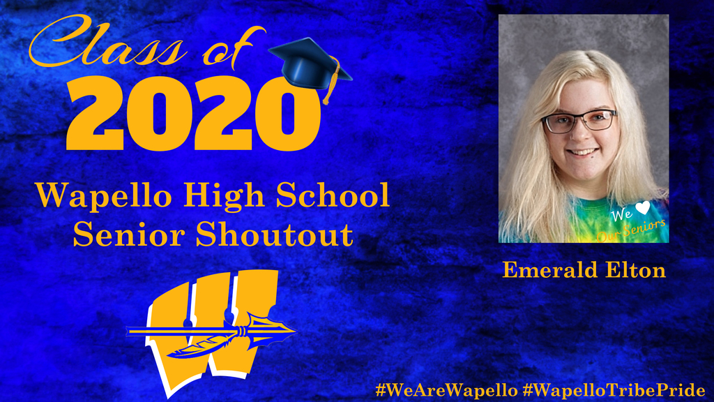 Senior Shoutout - Emerald Elton