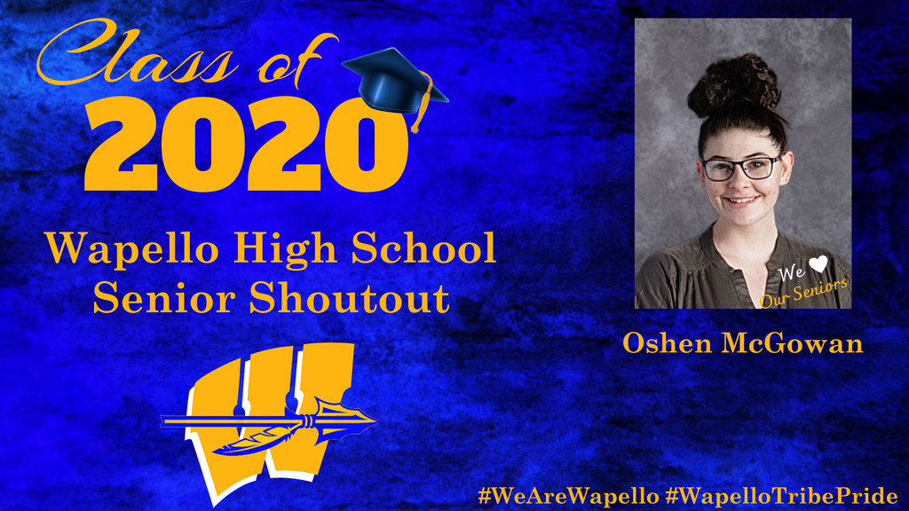 Senior Shoutout - Oshen McGowan