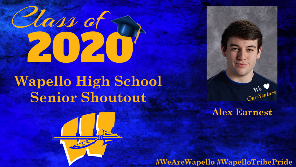Senior Shoutout - Alex Earnest