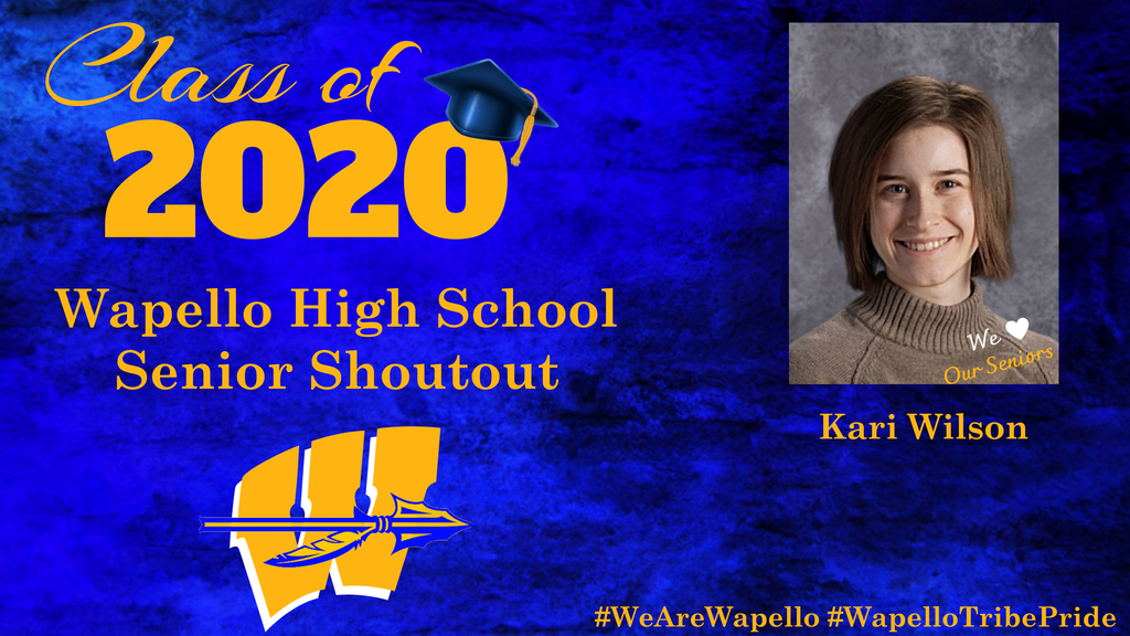 Senior Shoutout - Kari Wilson
