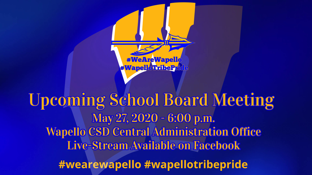 Upcoming School Board Meeting