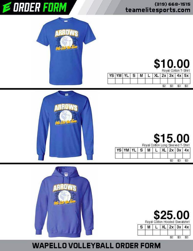 Volleyball Apparel 2