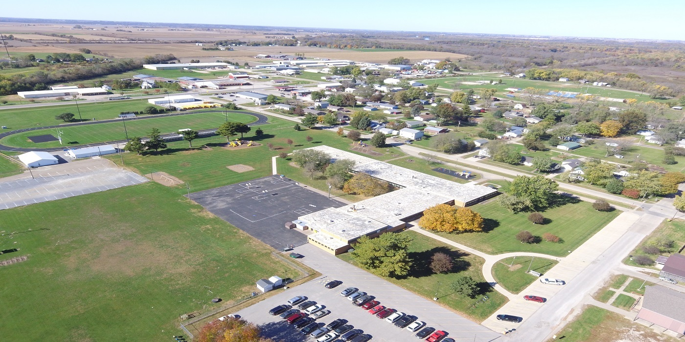 Aerial view of WES